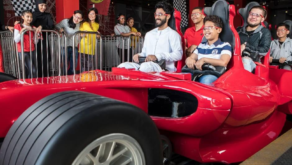 Adventure Combo Tour- Ferrari World, Warner Bros World & Yas Water World