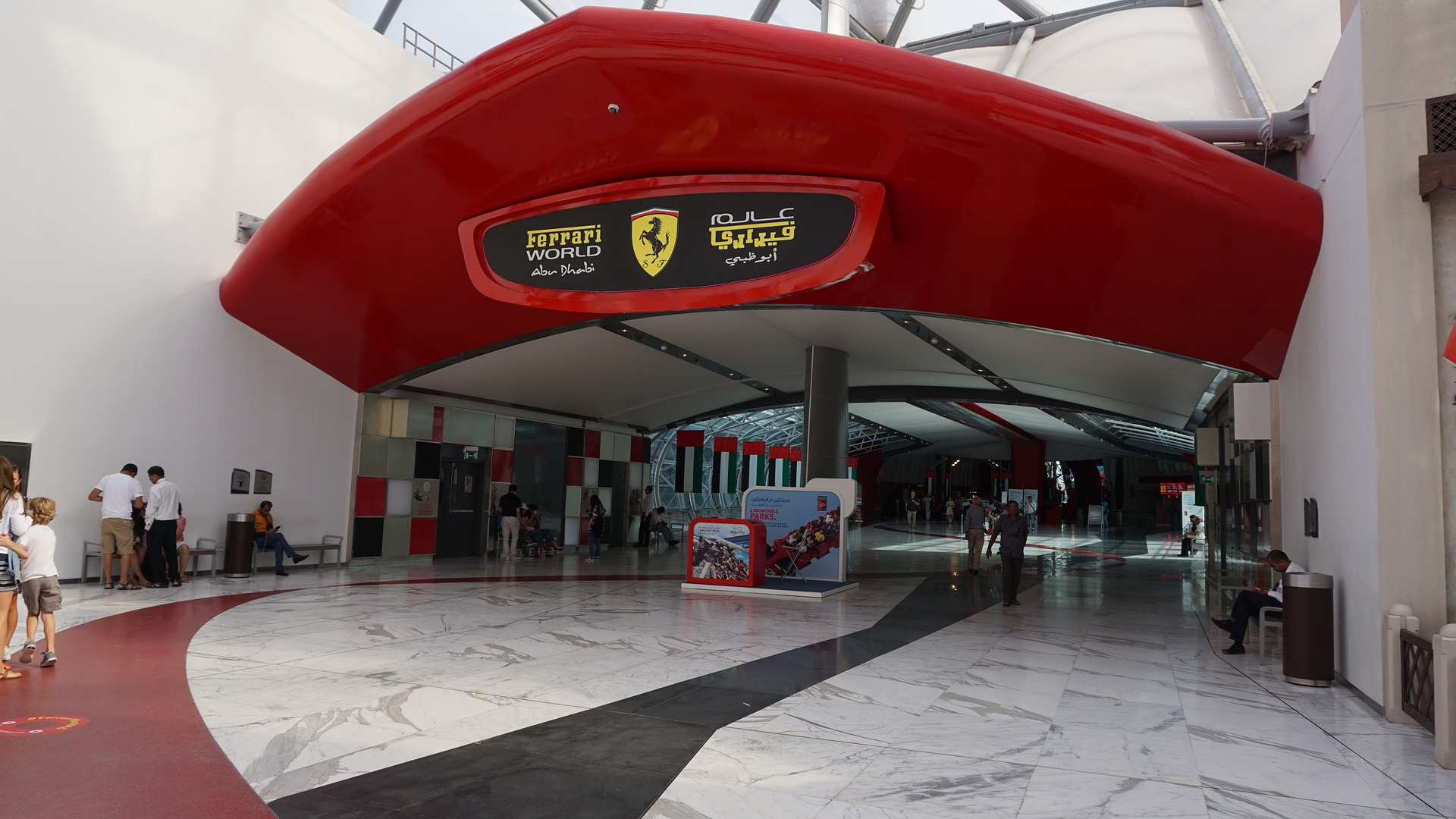 Visit Sheikh Zayed Grand Mosque-Ferrari World Abu Dhabi