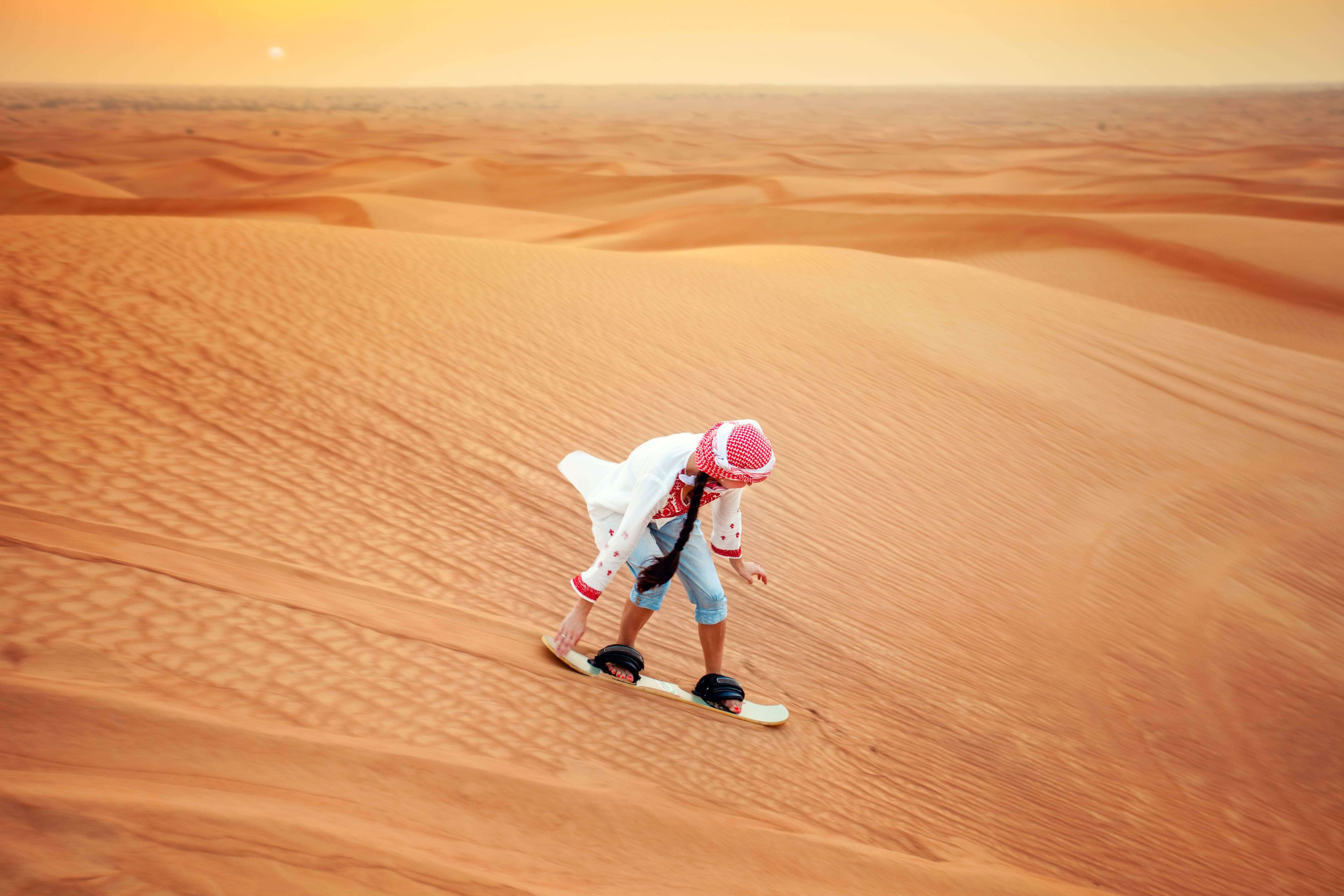 Desert Safari + Dubai City Tour + Dhow Dinner Cruise Trio Tour Package In 2 Days!